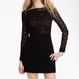 DVF Sarita Pebble Lace Shift Dress